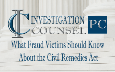 What Fraud Victims Should Know About the Civil Remedies Act